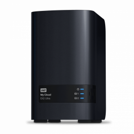 Сетевой накопитель (NAS) Western Digital My Cloud EX2 Ultra 28 TB WDBVBZ0280JCH-EESN