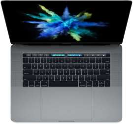 "Apple MacBook Pro 15 with Retina display Late 2016 (Intel Core i7 2700 MHz/15.4""/2880x1800/16Gb/512Gb SSD/DVD нет/AMD Radeon Pro 455/Wi-Fi/Bluetooth/MacOS X) Space Gray"