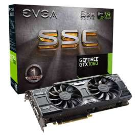 Видеокарта EVGA GeForce GTX 1060 1607Mhz PCI-E 3.0 6144Mb 8008Mhz 192 bit DVI HDMI HDCP SSC Gaming